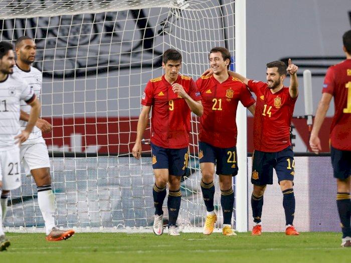 Spanyol Vs Jerman: Skor Akhir 6-0, Ferran Torres Hat-trick