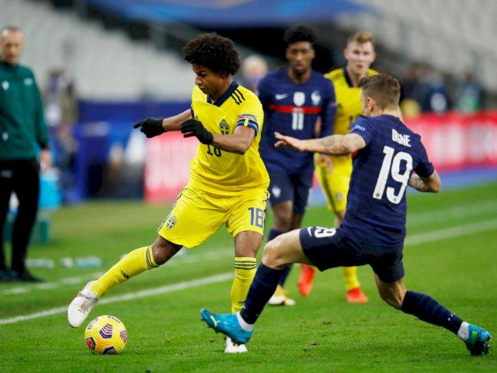 Prancis Vs Swedia 4-2, Olivier Giroud Cetak Dua Gol