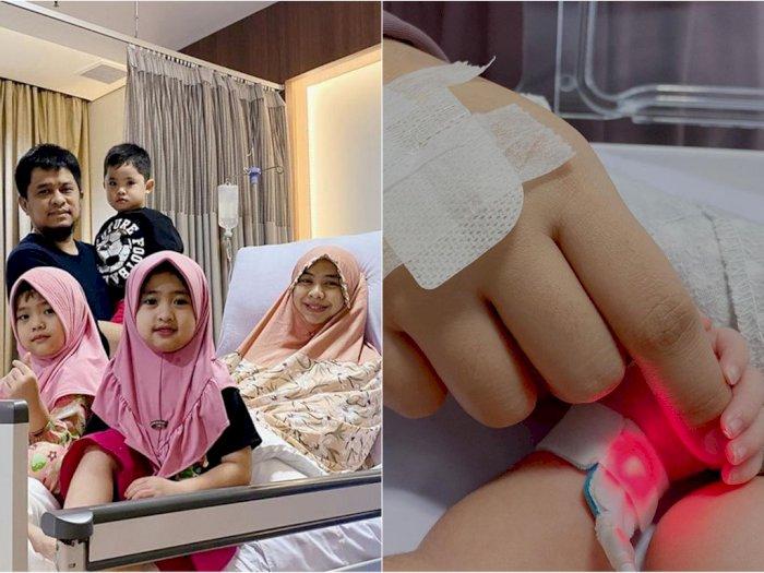 Masalah Gangguan Pernapasan Membaik, Anak Oki Setiana Dewi Harus Diobservasi 6 Dokter