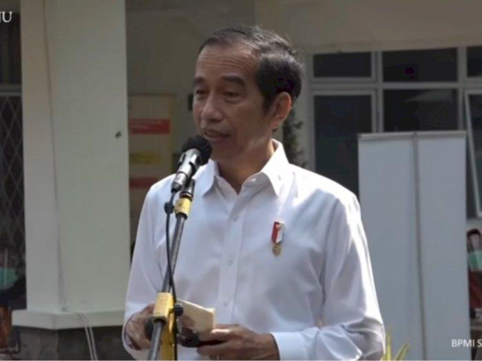 Presiden Jokowi Siap Divaksin COVID-19 Paling Depan