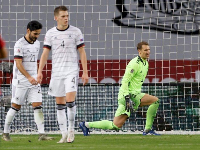Dihantam Spanyol 6 Gol Tak Berbalas, Jerman Ukir Rekor Kekalahan Mengenaskan
