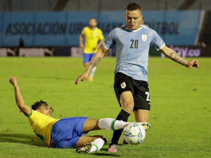 Uruguay Vs Brasil 0-2, Banyak Kartu Kuning Yang Dikeluarkan, Cavani Kartu Merah