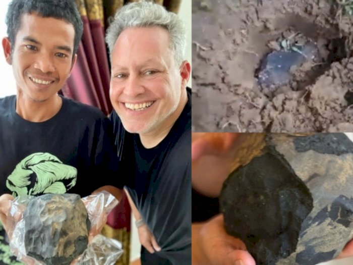 Pria di Tapteng Mendadak Kaya Usai Batu Meteor yang Hantam Rumahnya Dihargai Rp26 M