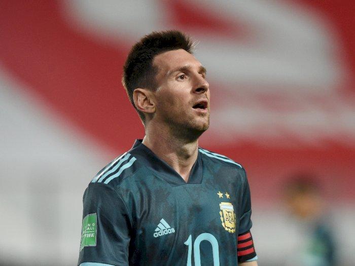 Argentina Kalahkan Peru, Messi: Senang dengan Kemenangan Ini!