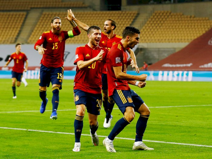 FOTO: UEFA Nations League, Spanyol Hajar Jerman 6-0