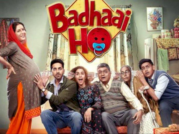 Sinopsis 'Badhaai Ho (2018)' - Kisah Lucu Ibu Berusia 50 Tahun yang Hamil Lagi