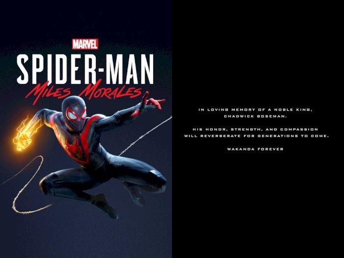 Kredit Spider-Man: Miles Morales Beri Penghormatan Kepada Chadwick Boseman!