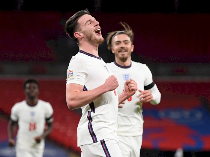 Inggris VS Islandia 4-0, Walau Pesta Gol Inggris Tetap Gagal