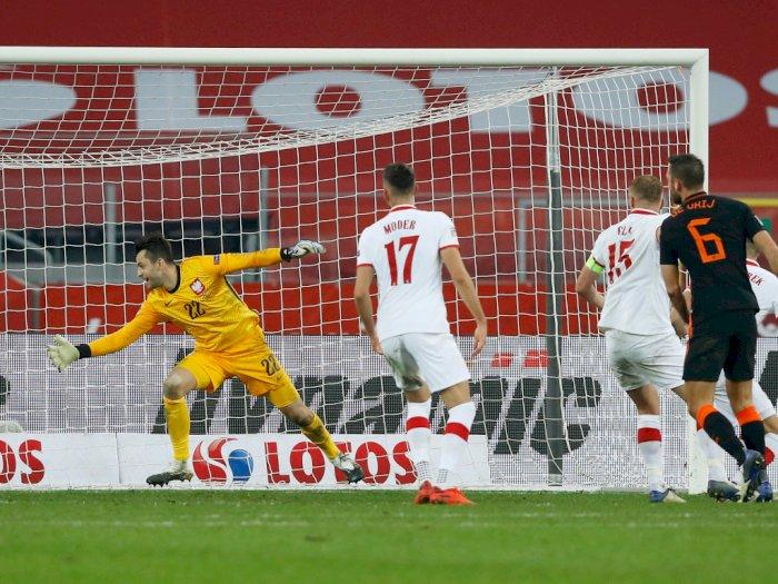 Polandia Vs Belanda Berakhir 1-2, Belanda Tak Lolos Semifinal UEFA Nations League