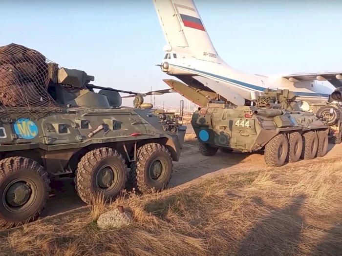 Armenia-Azerbaijan Gencatan Senjata, Rusia Pindahkan 'Senjata Perang' Era Soviet