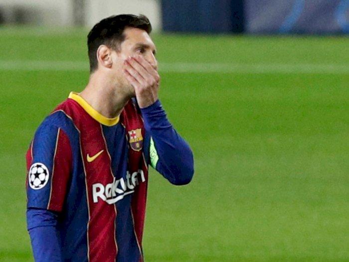 Baru Turun dari Pesawat Langsung Dicegat Petugas Pajak, Messi: Saya Selalu Jadi Masalah