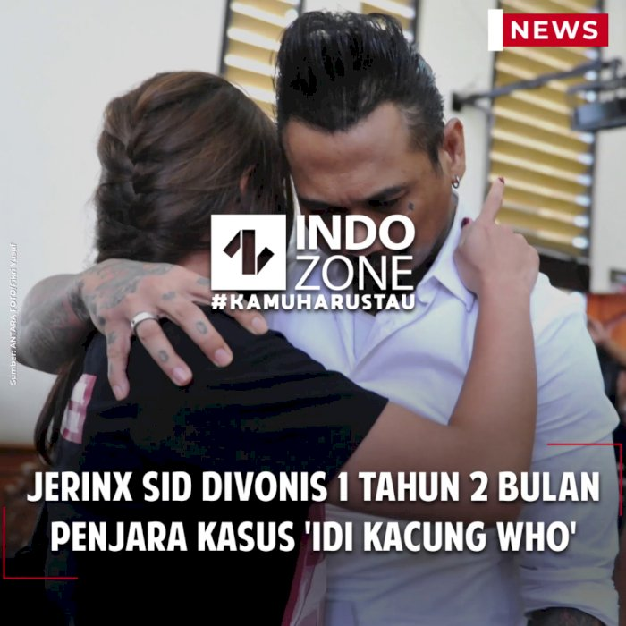Jerinx SID Divonis 1 Tahun 2 Bulan Penjara Kasus 'IDI Kacung WHO'