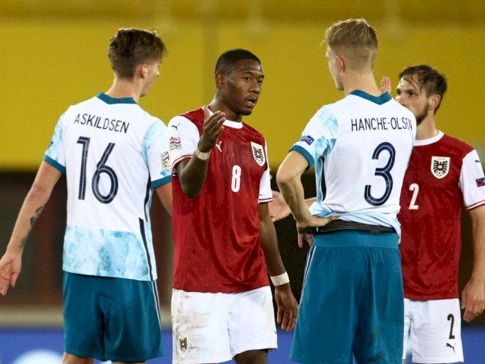 Walau Austria Vs Norwegia Berakhir 1-1, Austria Tetap Lolos Semifinal UEFA Nations League