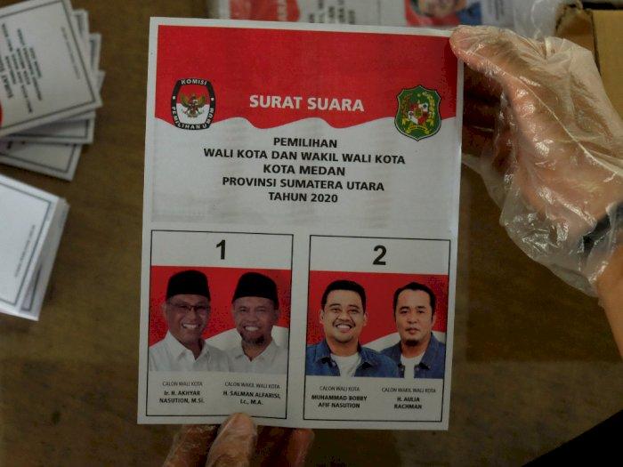 Diprotes Kubu Akhyar, KPU Medan Tegaskan Tidak Akan Pakai Surat Suara yang Rusak