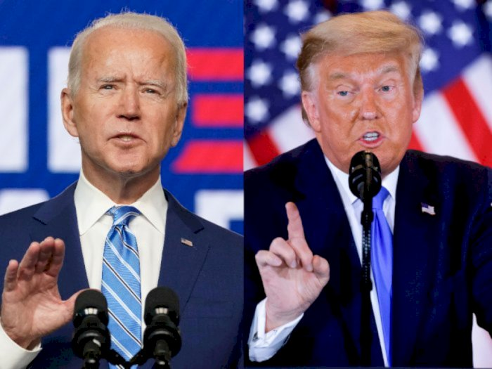 Biden Sebut Trump Sangat Tidak Bertanggung Jawab karena Penolakan Terhadap Pemilu