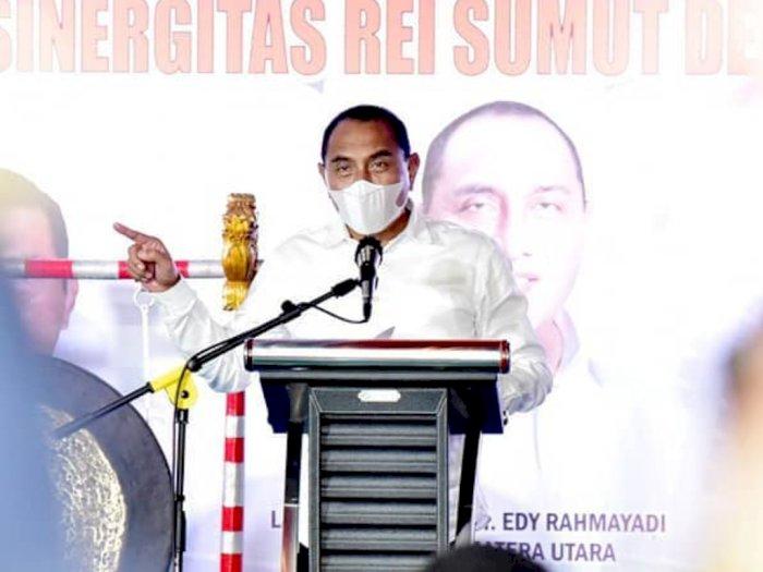 Gubernur Edy Tegaskan Akan Bubarkan Kegiatan yang Langgar Protokol Kesehatan