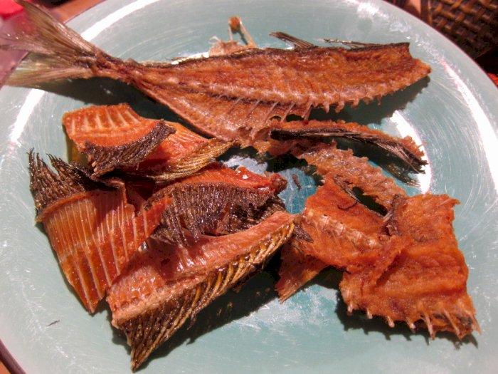Tulang Ikan Goreng, Makanan Ringan Populer dan Unik di Jepang