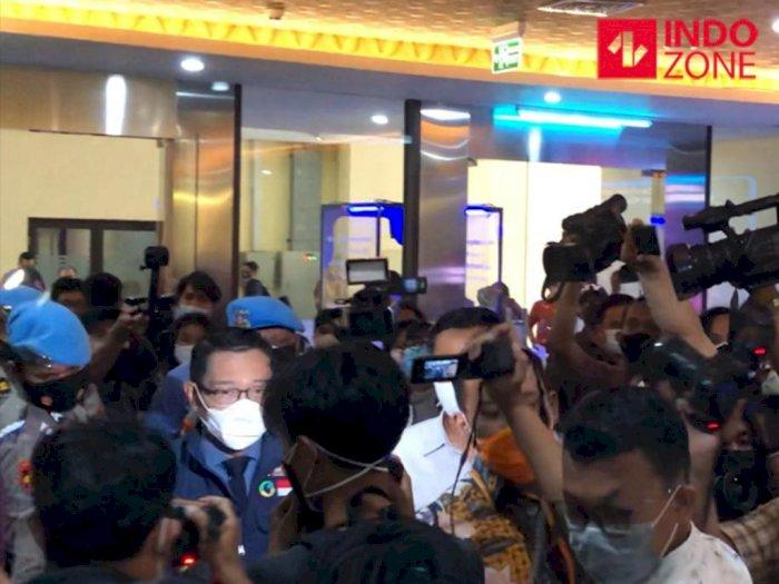 Ridwan Kamil Jelaskan Kronologi Kerumunan Habib Rizieq Shihab di Bogor