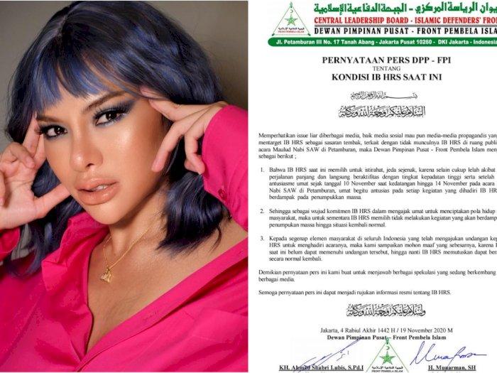 Nikita Mirzani Komentari Surat DPP FPI Soal Habib Rizieq, Komentar Vanessa Angel Disorot