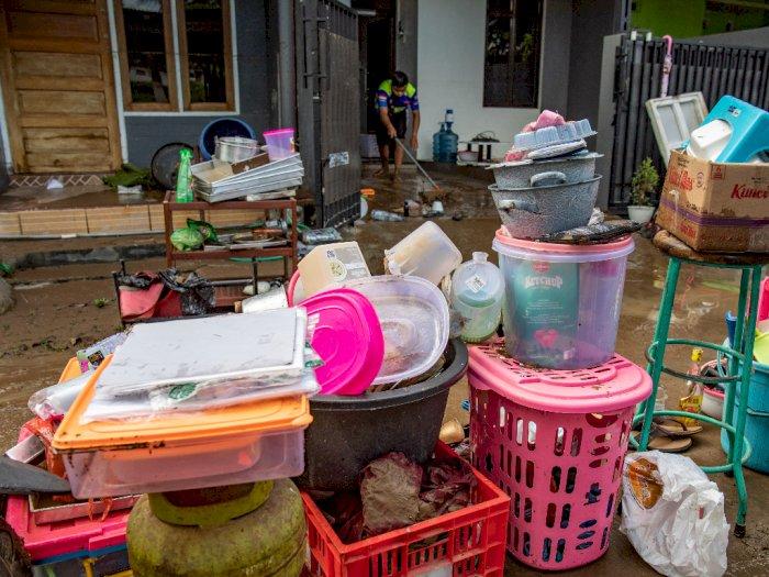 FOTO: Pascabanjir Bandang di Perumahan Semarang