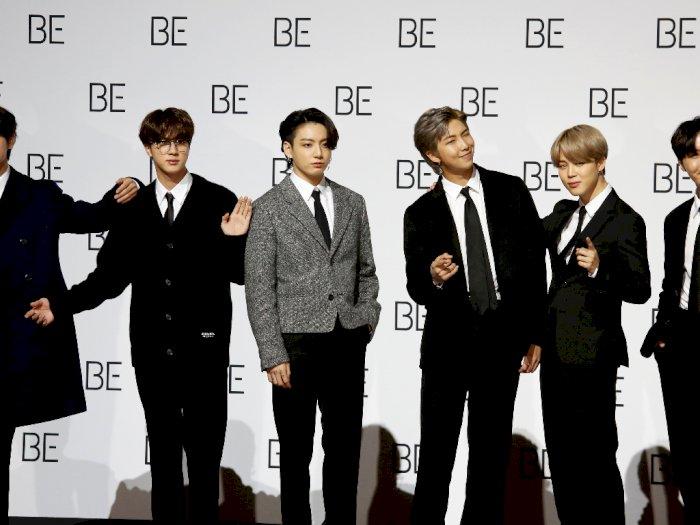 "FOTO: BTS Rilis Album Baru ""BE (Deluxe Edition)"" di Seoul"