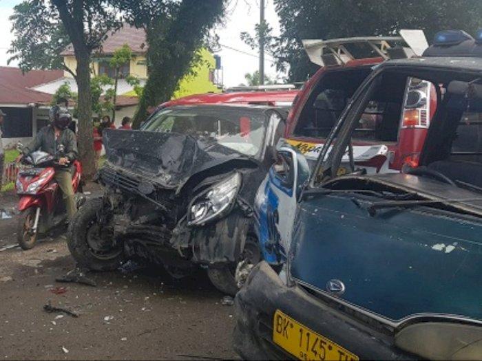 Supir Truk Kecelakaan di Simalungun jadi Tersangka, Supir: Saya Minta Maaf