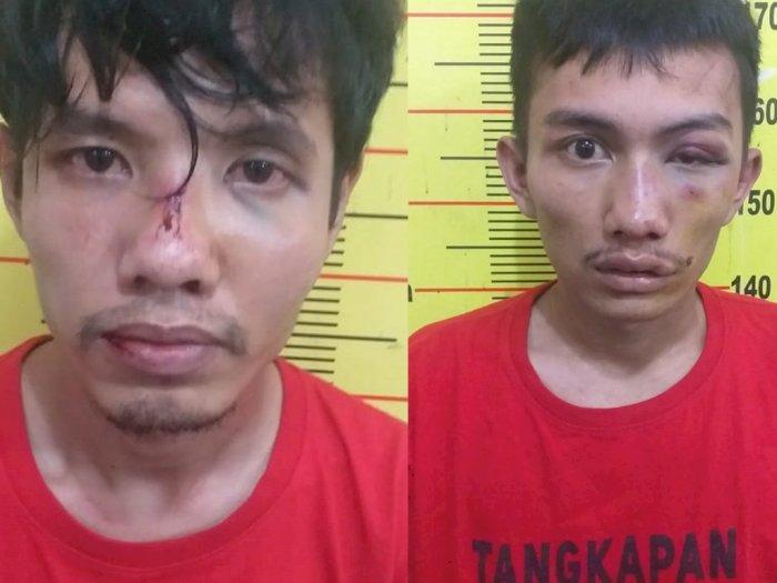 Akibat Motor Mogok di Tengah Jalan, Komplotan Pencuri di Medan Babak Belur Dihajar Warga