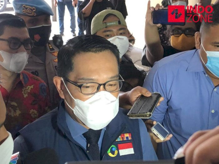 7 Jam Diperiksa Bareskrim, Ridwan Kamil Minta Maaf soal Kerumunan di Bogor