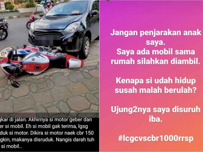 Buntut Kasus Ayla Tabrak CBR1000RR SP, Ditawarkan Rumah dan Mobil Sebagai Ganti Rugi