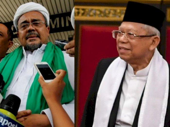 Wapres Sambut Baik Gagasan Pertemuan dengan Habib Rizieq Shihab