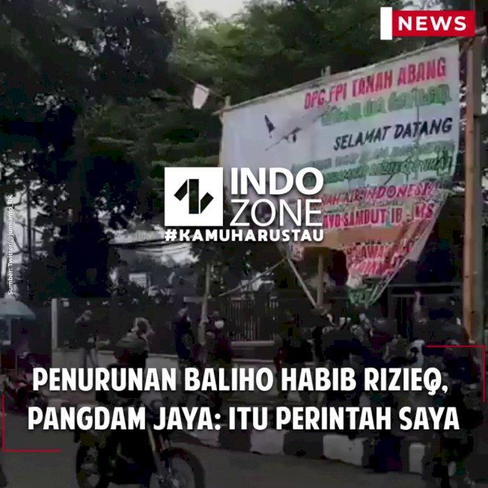 Penurunan Baliho Habib Rizieq, Pangdam Jaya: Itu Perintah Saya