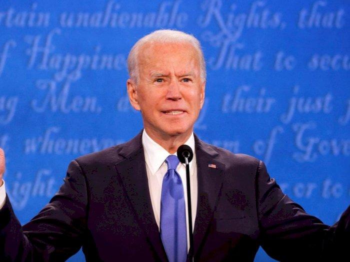 Sebut Tak Bertanggung Jawab, Joe Biden Tak Khawatirkan Klaim Kemenangan Donald Trump
