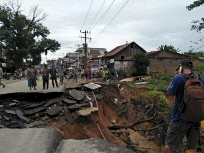 Empat Ruas Jalan di Simalungun Longsor, Tanah Jawa Paling Parah