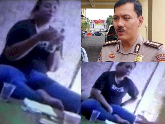 Geger Video Oknum Polwan Isap Sabu Bersama Teman, Ternyata Kanit Narkoba Polres Mesuji