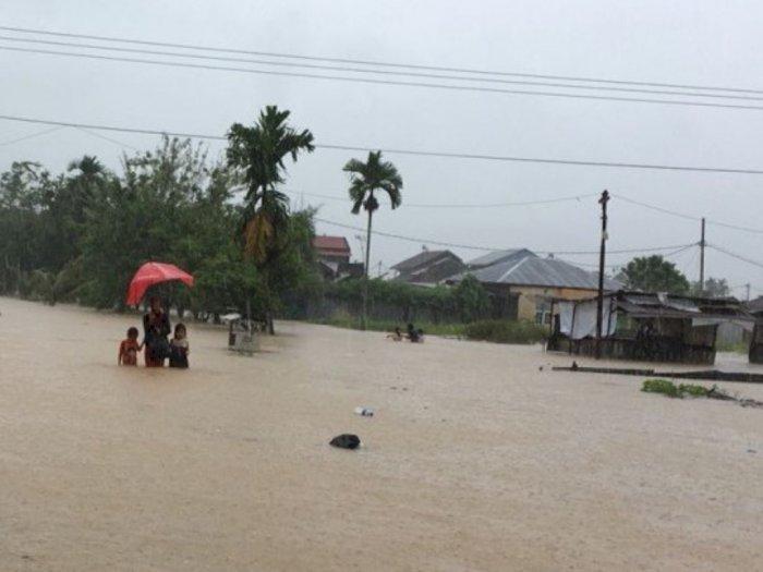 Hujan Bercurah Tinggi, Padang Pariaman Banjir, Tak ada Korban Jiwa