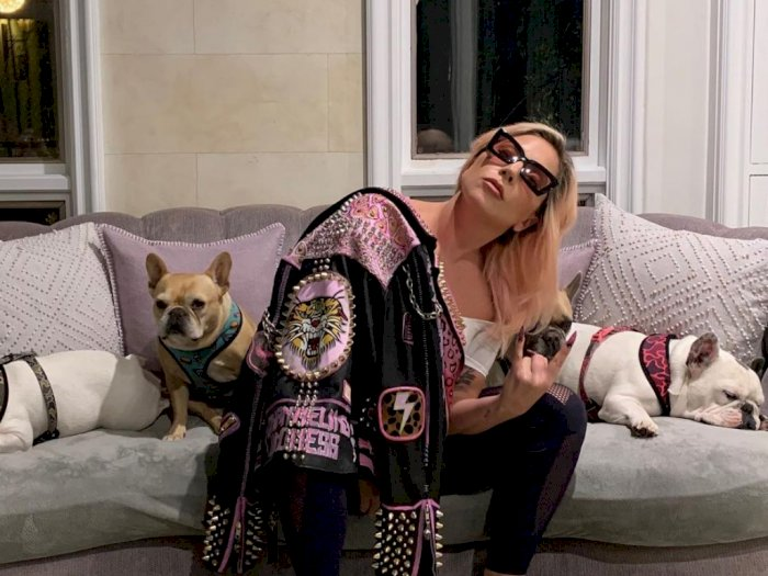 Lady Gaga Akan Adu Peran dengan Brad Pitt di Film 'Bullet Train'?
