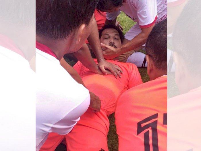 Innalillahi, Ajal Menjemput Legenda Bola Indonesia Ricky Yacobi Saat Tanding di Senayan