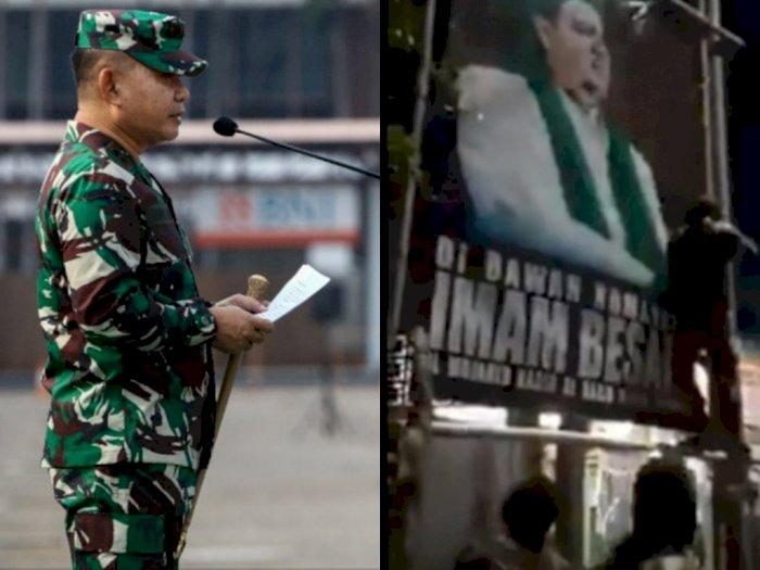 TNI Turun Tangan Copot Baliho Rizieq Shihab, Andi Arief: Negara Sudah Kalah, Tak Mampu!