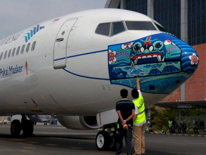 Garuda Indonesia jadi Maskapai dengan Protokol Kesehatan Terbaik di Dunia