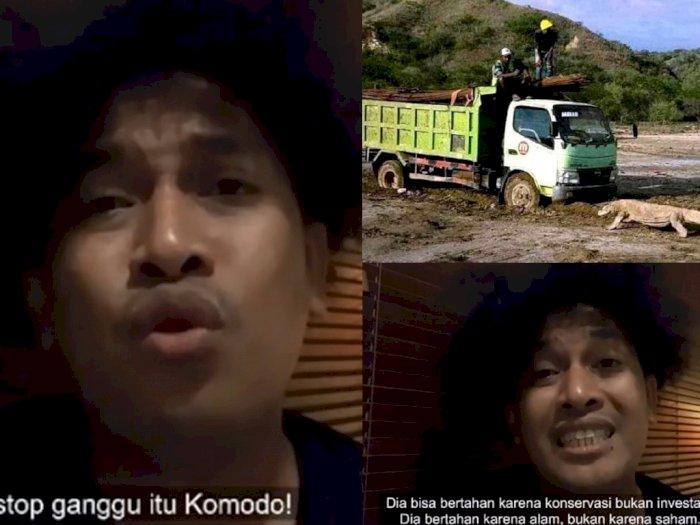 Kocak! Sindirian Komika Abdur Arsyad: Komodo Bertahan Karena Konservasi, Bukan Investasi