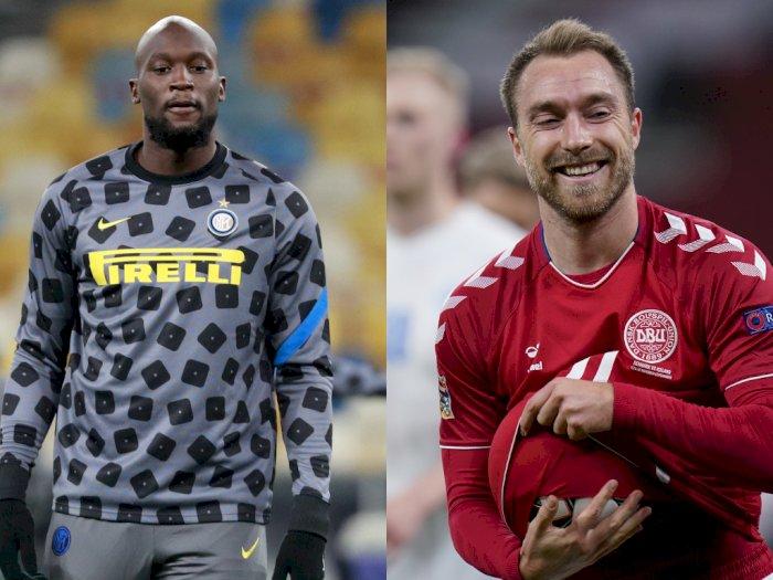 Lukaku Sarankan Eriksen Belajar Bahasa Italia Agar Berkembang di Inter