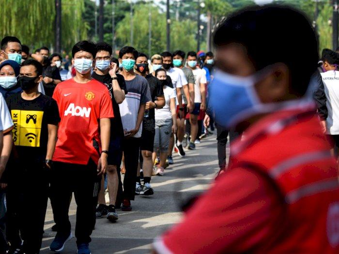 PSBB Transisi Berakhir Hari Ini, DKI Jakarta Sumbang Penambahan Kasus Covid-19 Tertinggi