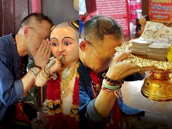 Pria Ini Jadi Dapat Miliaran Rupiah Berkat Menang Lotre Berkali-kali, Hasil Berdoa di Kuil