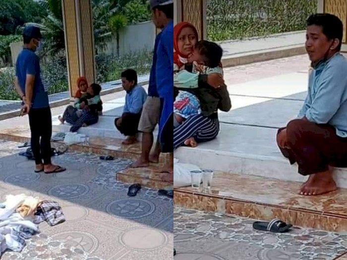 Satu Keluarga yang Curi Kotak Amal di Masjid Terciduk, Netizen Malah Kasihan