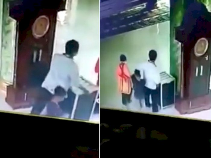 Viral Rekaman CCTV Satu Keluarga Maling Kotak Amal Masjid, Bikin Warganet Murka!