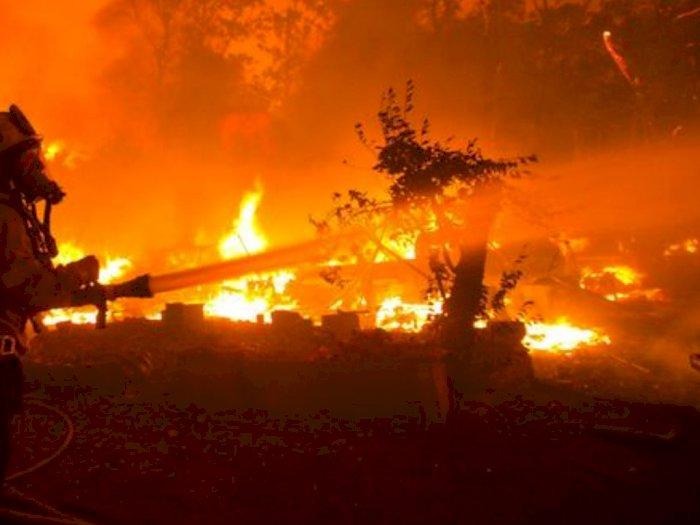 Kebakaran Rumah di Komplek Asrama Brimob, Ini Perkiraan Kerugiannya