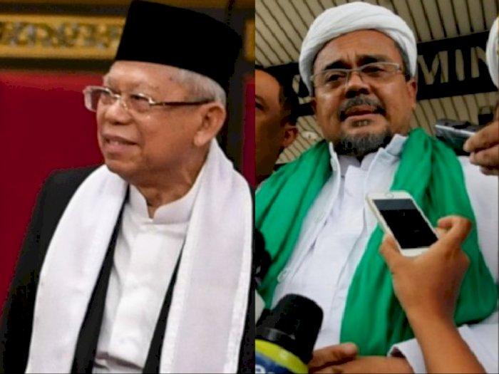 Klarifikasi Jubir Wapres Soal Pertemuan Ma'ruf Amin dengan Rizieq Shihab