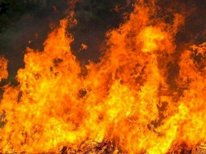 Belasan Rumah Dinas Brimob Polda Sumut Terbakar, Tak Ada Korban Jiwa