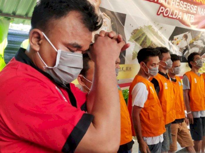 Tergiur Bayaran Rp100 juta, Seorang Ustadz di Lombok Jadi Pengelola Rumah Produksi Sabu