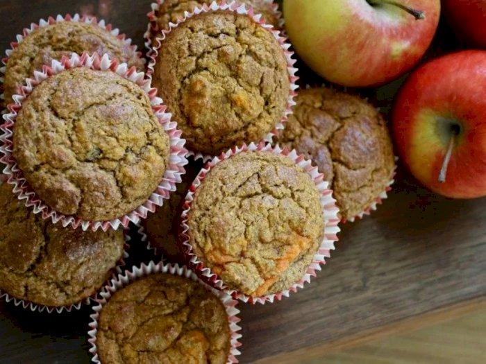 Sarapan Berprotein dengan Muffin Apel